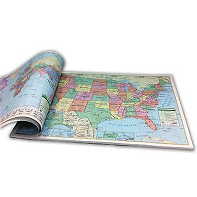 Kappa Map Group / Universal Maps UNI16307 Us and World Combo Study Pads