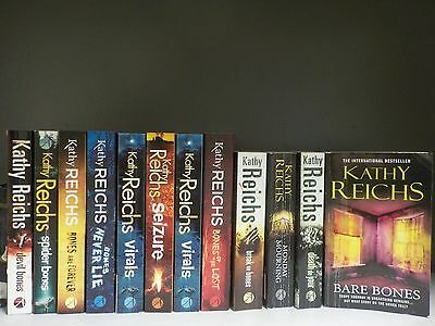 Kathy Reichs - 12 Books Collection! (ID:38736)