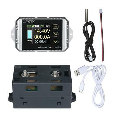 DC 400V 300A Wireless Volt Ammeter Power Meter battery Charge discharge capacity