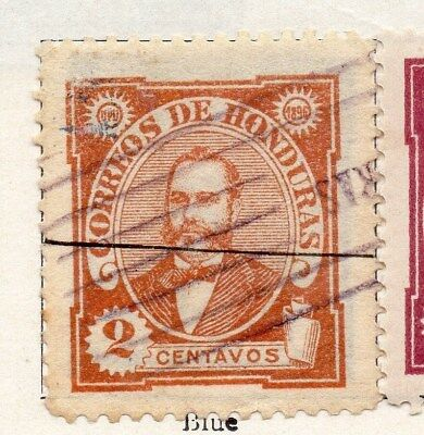 Honduras 1896 Early Issue Fine Used 2c. 090656