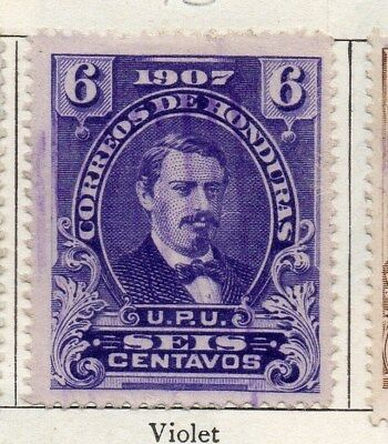 Honduras 1907 Early Issue Fine Used 6c. 090664