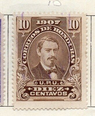 Honduras 1907 Early Issue Fine Used 10c. 090665