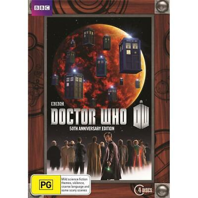 Dr Doctor Who Series 50th Anniversary Collector's Edition DVD Box Set Region 4