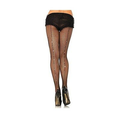COLLANT A RETE HOSIERY BACKSEAM DIAMOND nero sexy shop 00101067