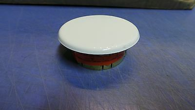 1 – Viking Mirage Fire Sprinkler White Cover Plate 135° F # 13504MA/W, NEW