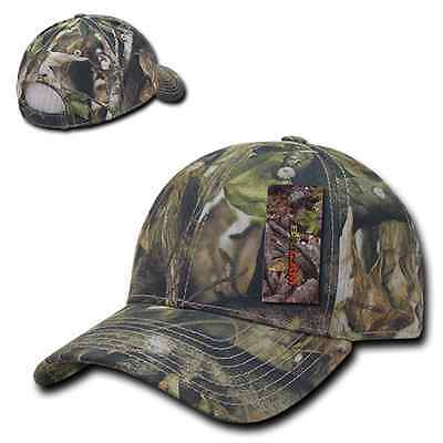 6fb56daa3e453 Camo Cotton Camouflage Low Crown Structured Mossy Adjustable Baseball Cap  Hat