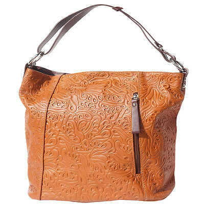 9fdcce6394b6 Crossbody Bag Italian Genuine Leather Hand made in Italy Florence 3016S tab