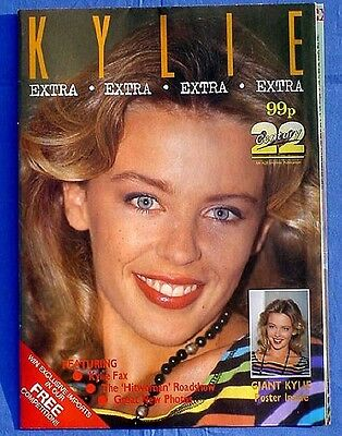 Kylie Minogue 1989 poster magazine from uk mint & unused GORGEOUS PIX
