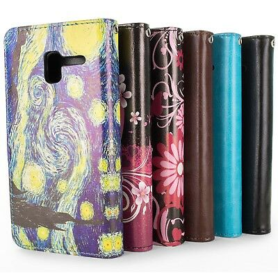 "For ALCATEL TRU / Stellar / Pop 3 (5"") Premium Wallet Synthetic Leather Cover"