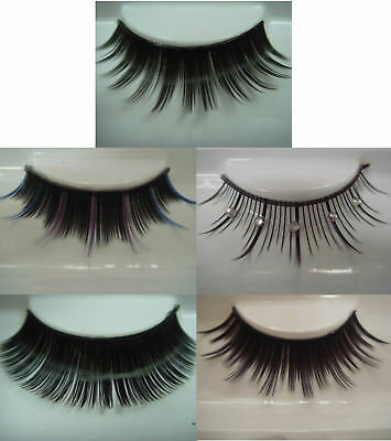 False Eyelashes - Excellence - Choose From 5 Styles - Adhesive Glue Included