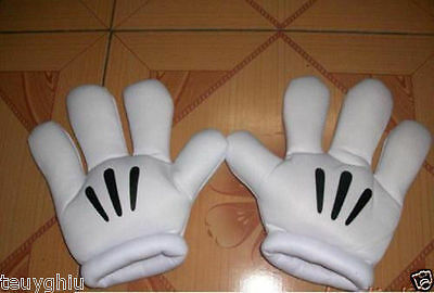 NEW Disney Minnie Mickey Mouse Costume Party Cosplay Big Hands Gloves