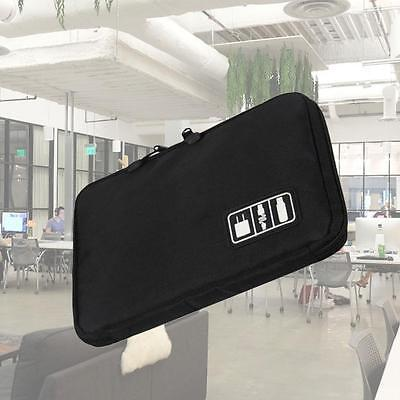 Travel Digital Electronic Accessory Case Cable USB Drive Insert Organizer Bag LN