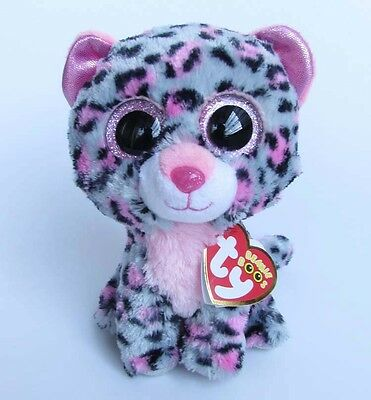 "6"" TY Beanie Boos Tasha Leopard With Tag Plush Stuffed Animal Toys ty146"
