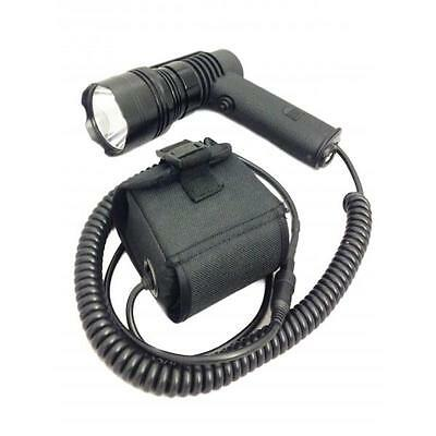 Clulite PL-400L Pistol Light with Li-ion Battery LED Lamping Torch 400m beam
