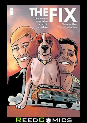 THE FIX VOLUME 1 GRAPHIC NOVEL by Nick Spencer Steve Lieber Collects Issues #1-4