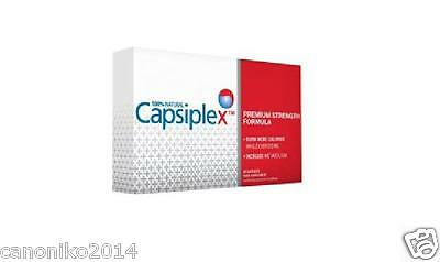 Capsiplex 100% Natural Premium Strength Formula Fat Colorie Burner 30 Caps
