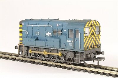 Bachmann 32-115B Class 08 08818 Br Blue Wasp Stripes (Weathered)