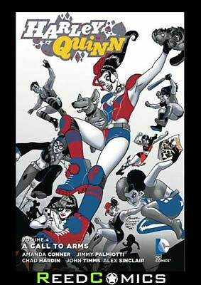 HARLEY QUINN VOLUME 4 CALL TO ARMS GRAPHIC NOVEL Paperback Collects (2013) 17-21