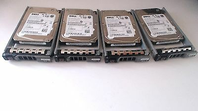 "Lot Of 4X Dell W328K Mbe2147Rc 146Gb 15K Rpm 2.5"" Sas Hard Drive For R810"
