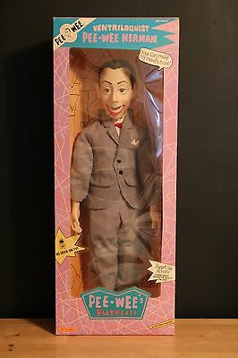 "1989 Pee-Wee Herman 26"" Ventriloquist Doll SEALED"