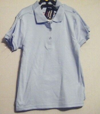 NWT Boys French Toast Official Schoolwear Polo Shirt 2 Pack BLUE Size XL14/16