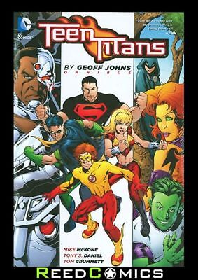 TEEN TITANS OMNIBUS BY GEOFF JOHNS HARDCOVER (1440 Pages) New Hardback