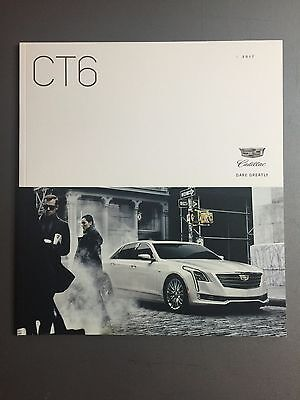 2017 Cadillac CT6 Sedan DELUXE Showroom Sales Brochure Awesome L@@K
