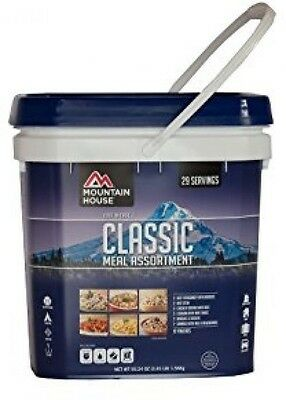 Mountain House Just In Case Classic Bucket Emergency Food Survival MRE