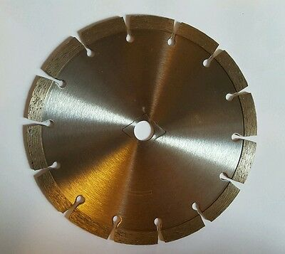 7 inch X 10 mm SEGMENTED DIAMOND SAW BLADE GENERAL PURPOSE CONCRETE