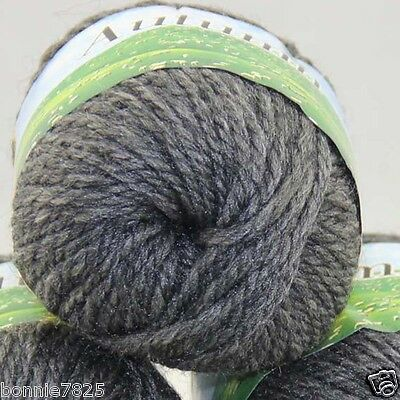 Sale New 1 Ball x 50gr Quick Hand Knitting Yarn Soft Worsted Wool Silk Velvet 08