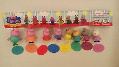 Extra Kinder Surprise Peppa Pig Set Ferrero Figures Collectibles +1 Paper