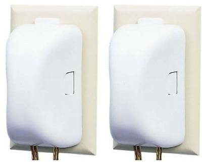 Safety 1st Double Touch Plug & Outlet Cover - 2 Outlet Covers