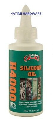 SILICONE OIL H4000 HELMAR 100ml---Home/ Sporting equipment /Machinery/Automotive