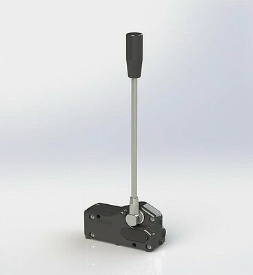 remote cable control, single lever for hydraulic spool valve IS-3047 Indemar