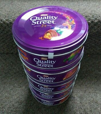 NESTLE QUALITY STREET FULL SMALL TIN 6x 240g BIRTHDAY GIFT NEW