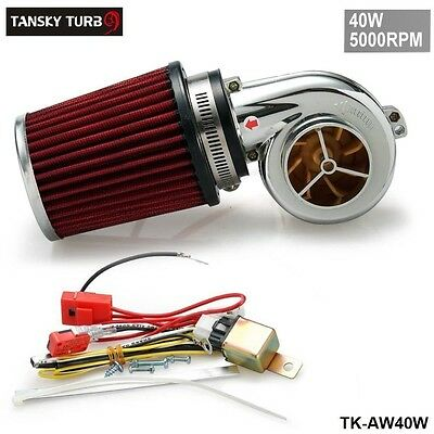 Motor Electrical Turbocharge 40W  5000Rpm / Supercharger Kit / Universal Fit Rid