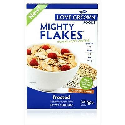 Love Grown Foods 12 Ounce Mighty Frosted Flakes Cereal