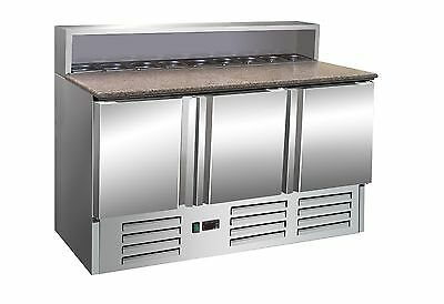 Pizza table Model GIANNI Pizzastation Salad unit Counter Cooling type GN
