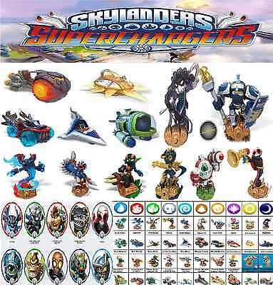 Skylanders Superchargers Super Chargers Au Choix Choice Collect Them All!