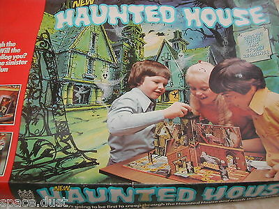 Haunted House Game - Denys Fisher -1975 - Haunted House - Rare Version - 100%