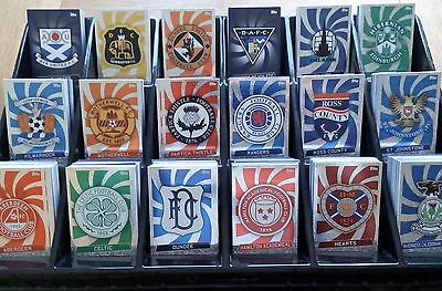 SPFL SCOTTISH MATCH ATTAX 2016/2017 TEAM SETS SPL Championship CELTIC RANGERS