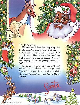 Personalized Letter From Santa By SoniaMcD