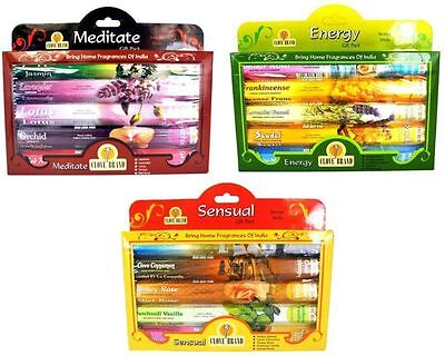 Incense Sticks Fragrance Approx Sticks India Scent Burning 5 Festive Scents Gift