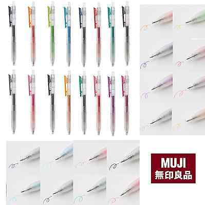 MUJI Gel Ink Pen 16 color 0.5mm  Stationary