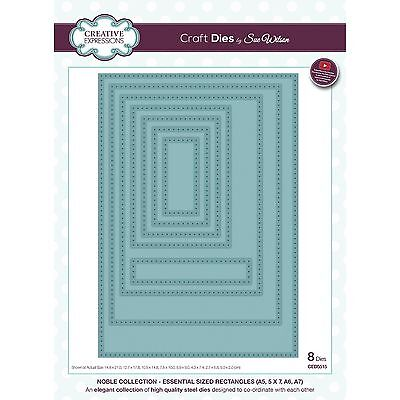 Craft Dies by Sue Wilson - Noble Collection - Essential Sized Rectangles (CED551