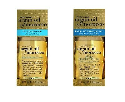 OGX Organix Renewing Argan Oil of Morocco Penetrating oil Normal Extra Moroccan