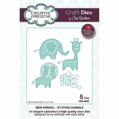 Craft Dies by Sue Wilson - New Arrival Collection - Stuffed Animals (CED10025)