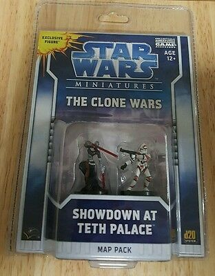 "Star Wars Miniatures ""The Clone Wars"" Map Pack Showdown at Teth Palace"