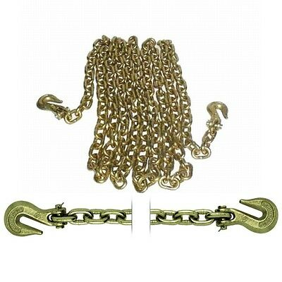"Load Binder Tow Chain Assembly 3/8"" x 20' Grade 70 6694"
