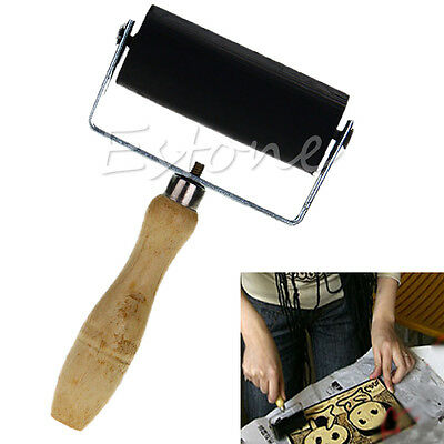 6cm Professional Brayer Ink Painting Printmaking Roller Art Stamping Tool New